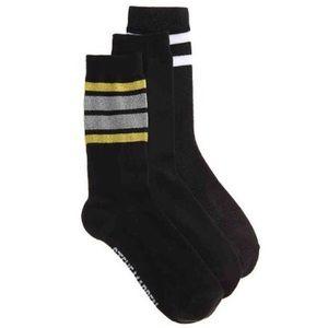 3 pack lurex Socks *FIRM price*